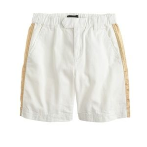 J.Crew White Gold Shorts Women's Size 0